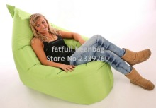 Cover only  No Filler -Modern both indoor and outdoor adults bean bag chair, COUPLE Anywhere love sack - Free shipping