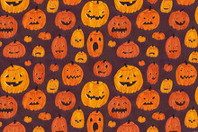 Custom Pumpkin Halloween Texture wallpaper restaurant wallpaper,bar living room sofa TV wall bedroom kitchen 3d wall mural(China)
