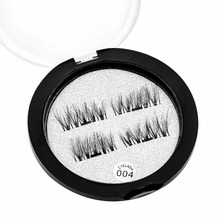 ONE TWO Magnetic Lash Strips False Eyelashes Reusable Eyelash Extension Simple Apply Magnet Lashes Comstic Tool(China)