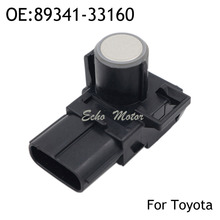 New 89341-33160 8934133160 for Toyota Lexus Black Silver White Reversing Sensor Wireless Front And Rear Parking Sensors(China)