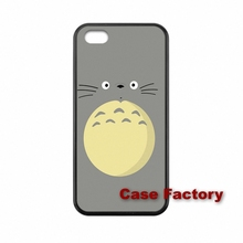 For LG G5 E975 L5II L7II Google Nexus 4 5 6 Sony Z1 Z2 Z3 Compact Silicon Painting Totoro case mobile Case