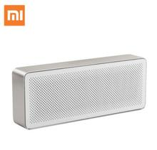 Original Xiaomi Newest Speaker Pencil Box Xiaomi Bluetooth 4.2 Speaker 2 Square Stereo Portable High Definition Sound Quality