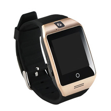 NEW Bluetooth smart watch Apro Q18s Support NFC SIM GSM Video camera Support Android/IOS Mobile phone pk GT08 GV18 U8