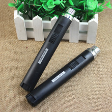 Portable gadget gas lighter,Cool Inflatable turbo lighter, Kitchen outdoor Windproof lighter,Adjustable & fixed flame