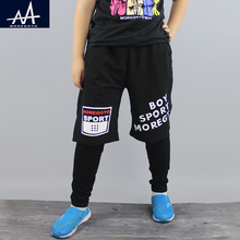New Fashion Children Casual Boys Sports Jogger Trousers Spring Teen Boy Training Pants 10-12Y Boy Pencil Pants Running Trousers(China)