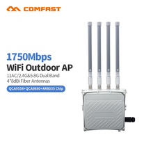 High power Comfast 1750M Outdoor AP Router WiFi Signal Amplifier 5G WiFi Repeater Signal Booster wireless AP router base station(China)