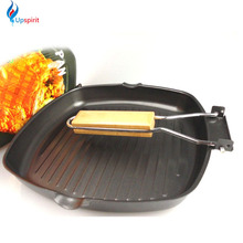 Multifunctional Non-stick Skillet Frying Pan Refined Iron Foldable BBQ Picnic Griddles Grill Pans Panelas Frigideira Cooking Pot