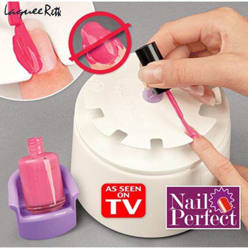 1Pcs Nail Treatment Perfect Nail Manicure Tools Nail Gel Polish Armor Meter Painted Hands Anti-spill Set Nail Care Tools 9