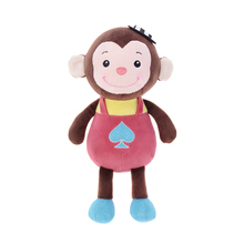 Metoo Cartoon Plush Monkey Toys Cute Doll Plush Toys Great Gift For Kids Collection Girls Dolls 27*17CM/10.5*6""