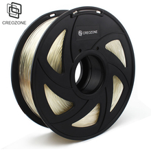 CREOZONE Top Quality Brand 3D Printer Filament 1.75 1KG PLA ABS Wood TPU PetG PP PC Metal Plastic Filament Materials for RepRap