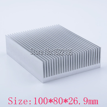 Heatsink 100x80x26.9mm power amplifier Aluminum heatsink heat sink high quality radiator Module radiator special for cooling