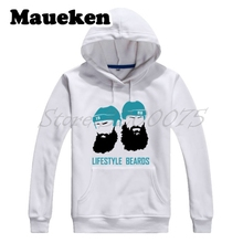 Men Hoodies Lifestyle Beards Joe Thornton 19 Brent Burns 88 San Jose Sweatshirts Hooded Thick for Sharks fans Winter W17120302(China)