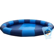 Dia 8m Large Inflatable Round Pool Water Game Swimming Pools Park For Child Free Air Pump Custom Color(China)