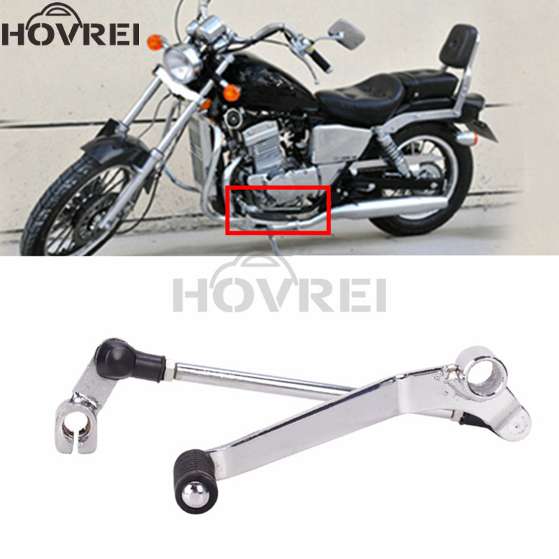 Motorcycle Aluminum Rear Brake Lever Foot Rests Shifter Gear Shift Lever Pedal for Honda Rebel 250 CMX250C 1996-2014 2013 2012
