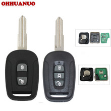 2 Button 3 Button Keyless Entry Remote Key Fob for Chevrolet Captiva 433MHz With ID46 Chip PCF7936 Control Alarm Fob(China)