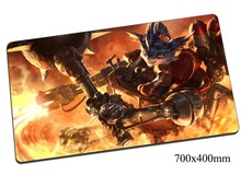 Rumble mouse pad 70x40cm gaming mousepad gear lol gamer mouse mat pad Mechanized Menace game computer High-end mouse play mats(China)