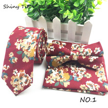 Mens Informal Necktie Casual Adjustable Bow Ties Flower Corduroy Bowtie Butterfly Wedding Party Corduroy Pocket Square Set/Lots