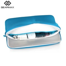 Gearmax Waterproof Laptop Bag for Macbook Air 13 15 Pro Women Case for Macbook Pro 13 15 11 Pink Blue Laptop Bag Notebook Case(China)