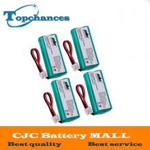 4X High Quality 2*AAA Ni-MH 800mAh 2.4V Rechargeable Cordless Home Phone Battery for Uniden BT-1011 BT1011 BT-101 BT1018