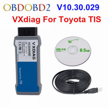 For TOYOTA TIS VXDIAG VCX NANO OBD2 Diagnostic Scanner VXDIAG USB/WIFI Version For TIS Techstream V10.30.029 Supports SAE J2534