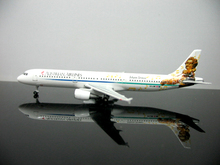 Special offer Out of print rare StarJets 1: 500 Austrian Airlines A321 OE-LBB alloy aircraft model Favorites Model