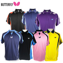 Butterfly high quality Japanese Table Tennis Shirt Sport Jerseys  Badminton Jersey