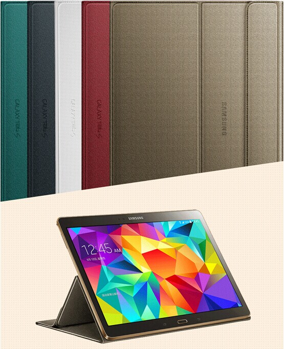 1:1 Official Original Protective Book Cover Case For Samsung Galaxy Tab S 10.5 T800 T805 Tablet Screen Protector + Stylus<br><br>Aliexpress
