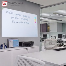 ZHIDIAN 36*60 Magnetic White boards Dry Erase Surface Adhesive classroom office provides space make lists doodle write notes(China)