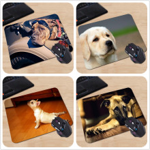 250x290x2mm Customized Mouse Pad American Staffordshire Terrier Funny Cute Dog Computer Notebook Rectangle Rubber Mouse Mat Pad