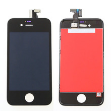 For Apple iPhone 4s LCD Display Touch Screen Digitizer Assembly With Frame+Free Shiping