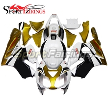 Fairings Kawasaki ZX12R ZX-12R Year 02-06 2002 2004 2005 2006 Sportbike ABS Motorcycle Full Fairing Kit Bodywork White Gold New