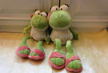 Cute 40cm Frog Soft Toys Stuffed Plush Toy Animals Wholesale Plush Toy Doll Gift for Kids Birthday Gift 1pc Free Shipping