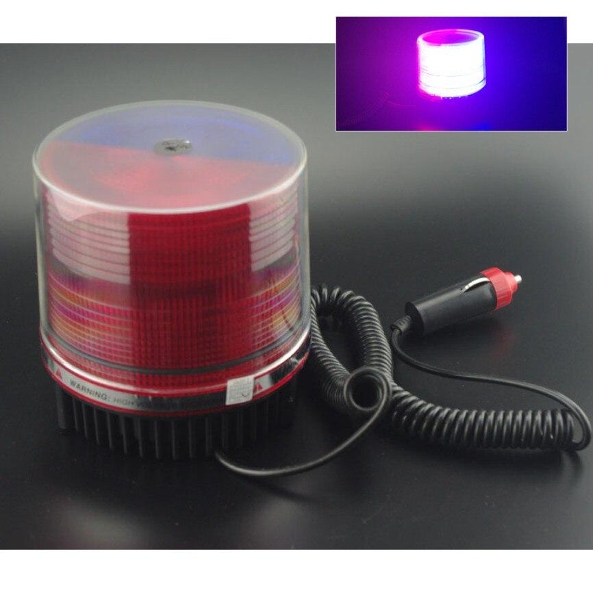 Wholesale Red Blue LED High Power Strobe Flash Warning Police Light Car Light Flashing Firemen Fog Lights<br><br>Aliexpress