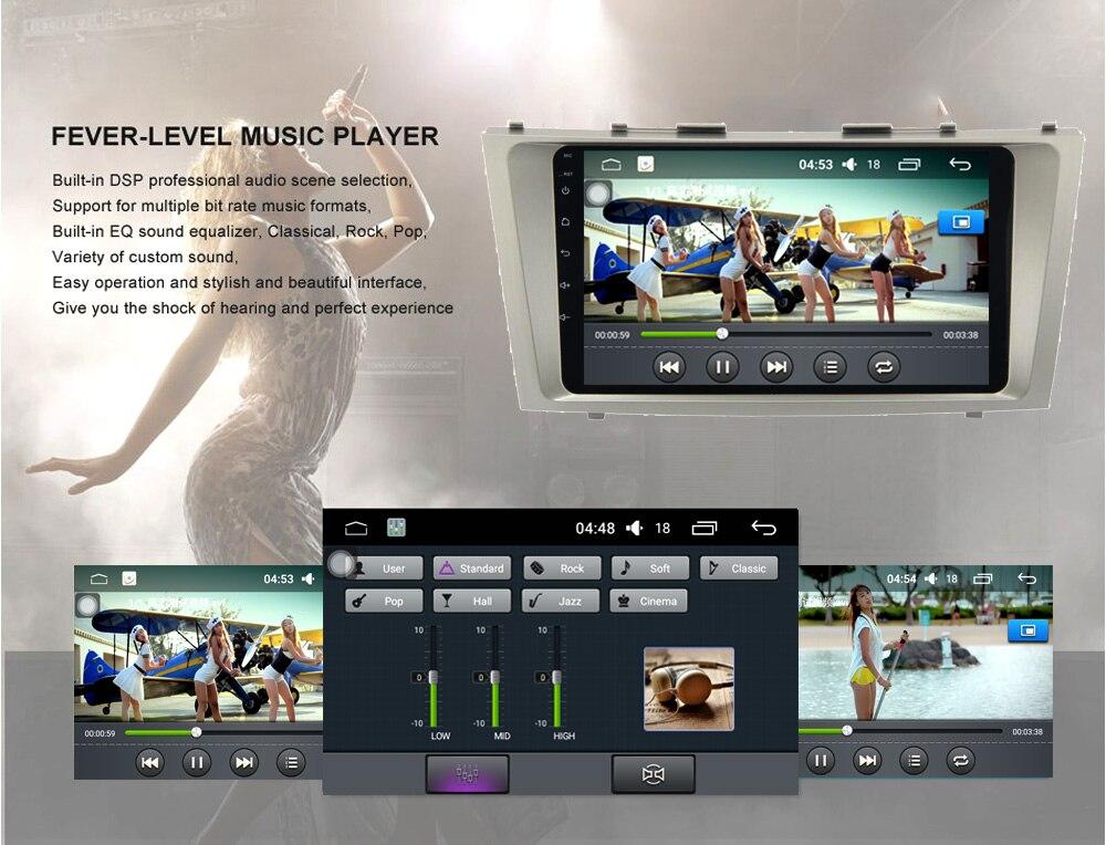 Runningnav Octa core Android 6.0 Fit Toyota Camry 2007-2011 dvd- GPS