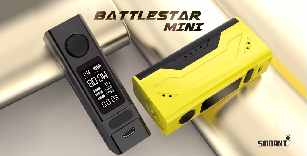 Smoant Battlestar Mini TC Box Mod