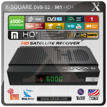 Satellite Receiver Full HD DVB-S2 Mini Receiver with USB PVR Media Player (FREE TO AIR);tv box(China)