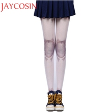 Buy Women Auturm Spring tattoo Joint Stockings Jointed Doll BJD Tights Pantyhose Lolita Cosplay Joint Cool Tights Stockings Jan20