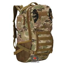 Free Shipping CP Multicam Military Tactics Mountaineering Backpack Wear-resistant 800D Oxford Hiking Bag Outdoor Sports Bag(China)
