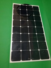 High Conversion Rate Efficiency Output 18V 100W Monocrystalline Solar Panel Semi Flexible Solar Module universal for Boat RV