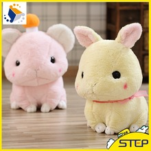 Free Shipping High Quality 1pcs Super Cute Big Ear Rabbit Plush Toy Soft Bunny Doll Easter Day Decor Baby Toys ST414(China)