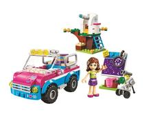 Friends 10555 Olivias Expeditions Auto Car Toys DIY Building Brick Toys Girls Gift Compatible Lepin 41116