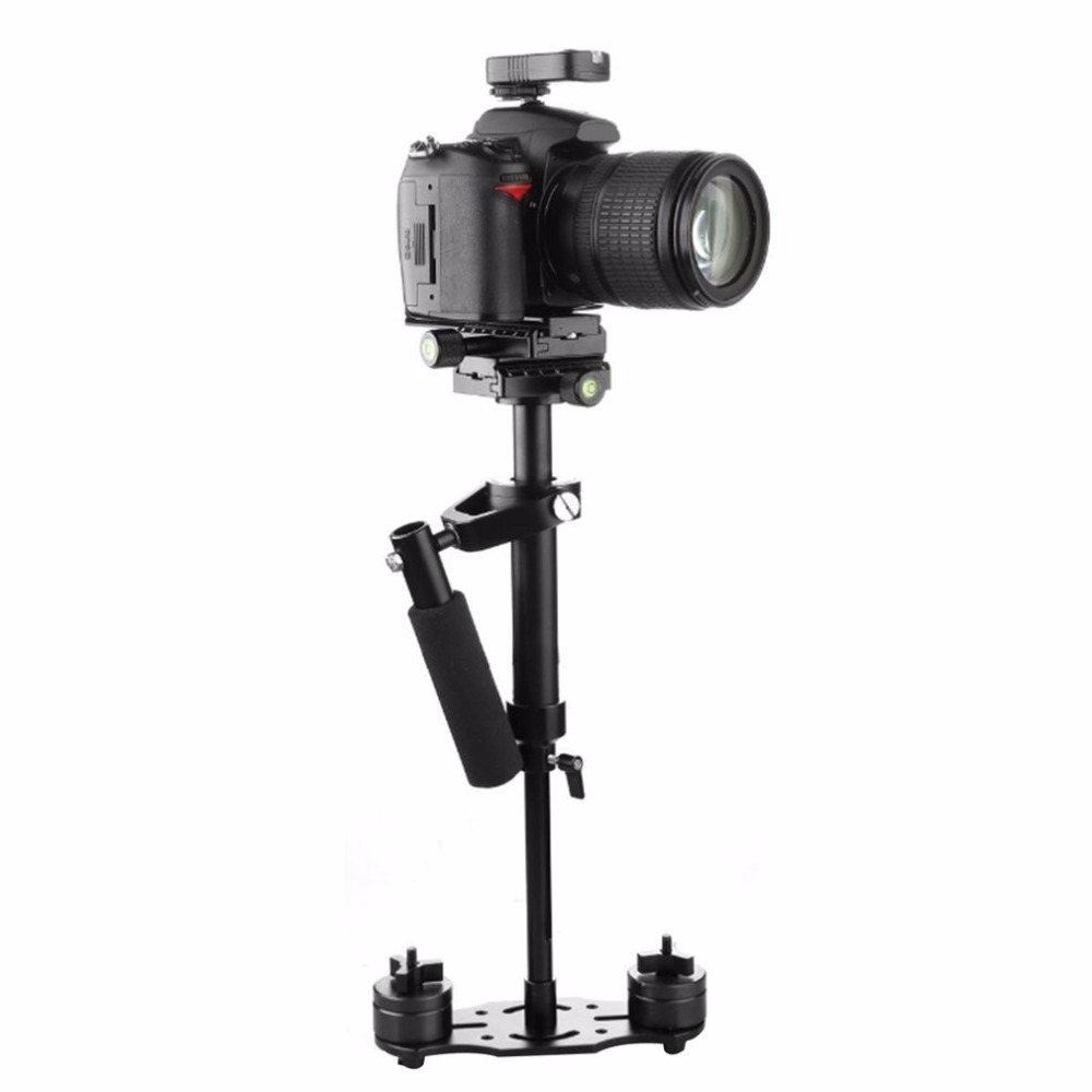 S40 S60 S80 Steadycam Scalable Carbon Fiber Handheld Stabilizer Steadicam Canon Nikon Sony DSLR Camera Compact Camcorder