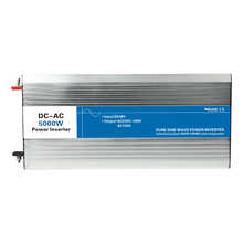 5000W pure sine wave inverter DC 12V/24V/48V to AC 110V/220V tronic power inverter circuits grid tie off cheap 12 24 48 V