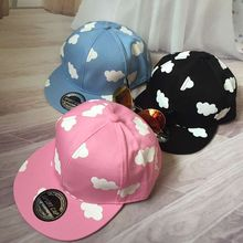 wholsale Brand Adult&Kid Baseball Caps Children Snapback Girls Clouds Print Kids Cap Hip Hop Hats For Boys Sun Hat Summer