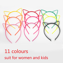 kids Baby birthday party Prom Cute cat ears Hairband Lady Sexy Self Headbands Hair Accessories for Women head band Girl headwear