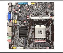 Full new,HM65-988 ultra-thin one computer motherboard I3I5I7 small board notebook CPU motherboard