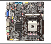 Full new,HM65-988 ultra-thin one computer motherboard I3I5I7 small board notebook CPU motherboard(China)
