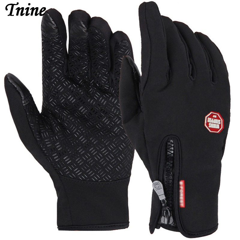 Touch Screen Gloves for Men Cold Weather Windproof Thermal Glove for Smartphone