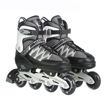 professional roller Skates Shoes adult or kid, Slalom Sliding inline Skates Shoes,Aluminum alloy frame Quad Skates shoes,IA58(China)