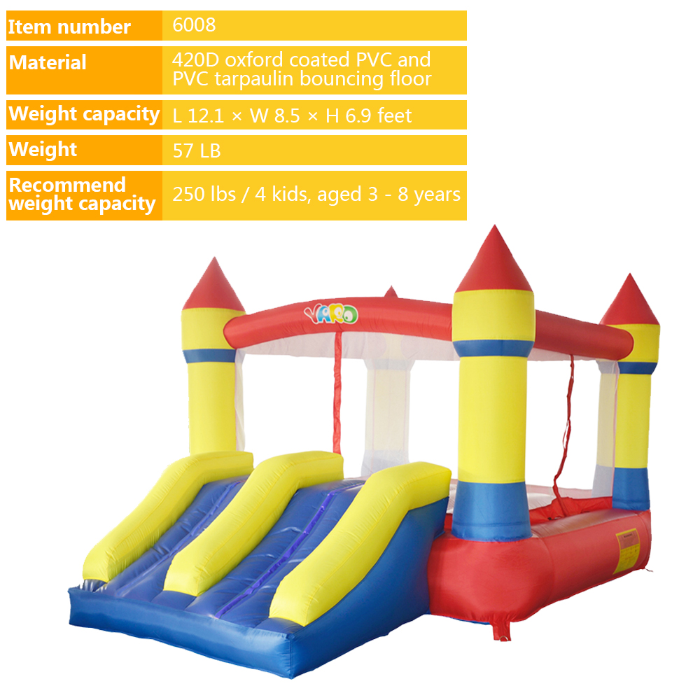 6008 inflatable bounce house castle  (5)